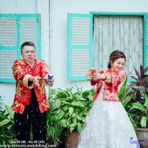 ÁO KHỎA NỮ HOA VĂN SANG TRỌNG VÀ TINH XẢO_Veronica Wedding 09
