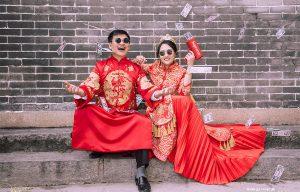 Áo Khỏa Nam Họa Tiết Rồng Thanh Lịch - Veronica Wedding - Kn97 (M)