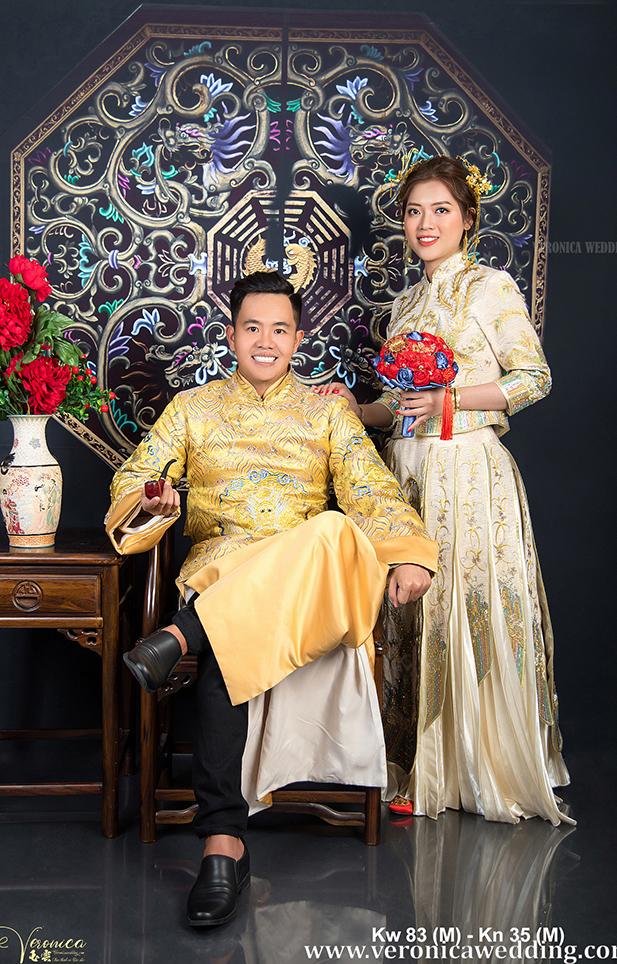 Ao Khoa Nam Mau Vang Thanh Lich - Veronica Wedding - Kn35 (M) (3)